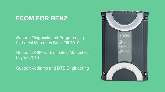 BENZ ECOM Support Diagnosis and Programming