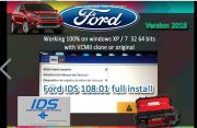 Latest Ford VCM IDS V108.06 Full Software Supports Multi-languages WIN XP/7 32 64Bits No need activation