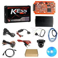 Kess V2 V5.017 eu version SW V2.47 and Red PCB Online version Supporting 140 Protocol without jeton restriction