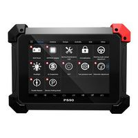 Xtoo machine ps90 automobile OBD2 auto diagnostics Tool and Key Programming / Critical length correction / EPS support multi - motor Wifi / BT